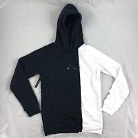Nike Air Jordan 11 Concord Legacy 72-10 Pullover Hoodie Black White Men's XL-XXL