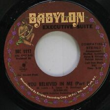 Soul 45 Sick Blues - You Believed In Me (Part 1) / You Believed In Me (Part Ii)