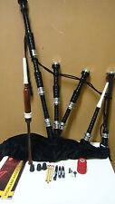 Dudelsack Schottisches Hochland mit schwarzem Samt Tartan Lerner Kit bagpipe