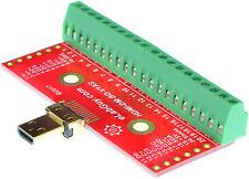 HDMI mini Type D Male socket Breakout Board, adapter,  eLabGuy HDMI-DM-BO-V1AS