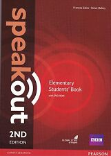 Pearson SPEAKOUT ELEMENTARY Students' Book with DVD-ROM 2nd EDITION @NEW@