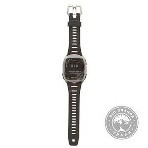 USED Timex TW5M40300IQ RONMAN R300 GPS Smartwatch with HR in Black / Dark Gray