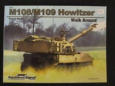Squadron: M108/109 Self-Propelled Howitzer  - Color Profiles, Color & BW Photos