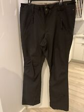 Capp3l Ride Snowboard Ski Pants Waterproof Breathable Gray Mens XL Strata HD II