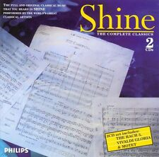 SHINE: THE COMPLETE CLASSICS - 2 PHILIPS CDS (1997) RACHMANINOV CHOPIN LISZT ETC