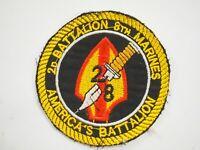 2nd Battalion 8th Marines America's Battalion Vietnam War Patch
