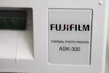 papier photo imprimante Fuji ASK - 300 kit pour 400 10x15 stock France neuf