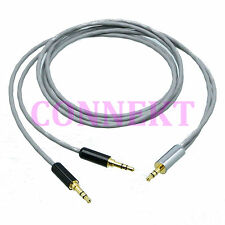 3.5mm stereo TRS plug to male 1M2M DIY splitter Cable Cord L-2B2AT Audio Aux