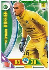 289 STEPHANE RUFFIER AS.SAINT-ETIENNE CARTE CARD ADRENALYN LIGUE 1 2018 PANINI
