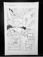 Marvel Wolverine Punisher Issue #2 Page 15 Original Art Work by Pat Lee Marvel!