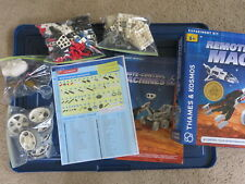 ! Thames & Kosmos Remote-Control Machines Space Explorers Stem experiment kit !