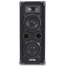 B-Stock MAX-26 Dual 6 Inch 2-Way Passive Bass Reflex DJ Disco Party Speaker 600W