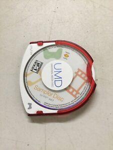 PSP Sampler Disc Vol. 1 (Sony PSP, 2005) Disc Only
