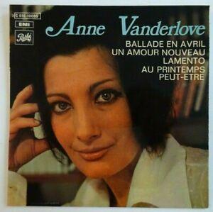 ANNE VANDERLOVE : BALLADE EN AVRIL ♦ EP 60s 45 TOURS ♦ filiation avec Manset