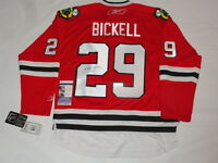 BRYAN BICKELL SIGNED #29 CHICAGO BLACKHAWKS 2013 STANLEY CUP JERSEY JSA COA