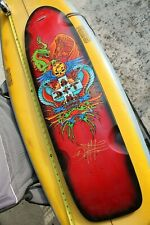 Dogtown Santa Monica Longboard Wes Humpston Signed 42x10.5in. SKATEBOARD DECK