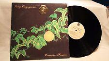 Tony Conjugacion - Hawaiian Passion, 1985 vinyl LP, Kahanu Records, Hawaii