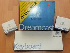 Sega Dreamcast Konsole mit Zubehörpaket und Spielen