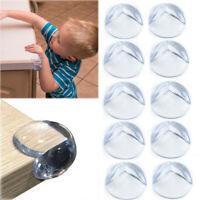 10 Baby Proofing Safe Glass DeskTable Edge Corner Cushion Guard Protector Bumper