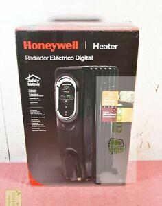 Honeywell Energy Smart Electric Radiator Heater Black