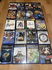 Ps2 Spielesammlung Konvolut Playstation 2 Games 20 Spiele