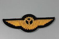 Post WW2 West German Bundeswehr Luftwaffe 1 Gold BULLION Mechanic Wings F135