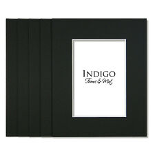 Set of 50 - 16x20 Black Single Mats with mat backings -Fit 11x14 - $18 Shipping!