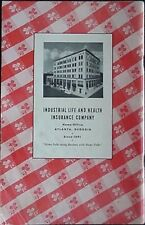 1940s INDUSTRIAL LIFE INSURANCE COMPANY (LIFE OF GEORGIA) COOK BOOK