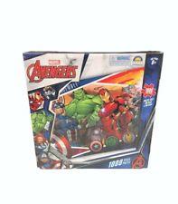 1000pc Marvel Avengers 68.5 X 50.5cm Kids Jigsaw Puzzle Cartoon Core Team 8y