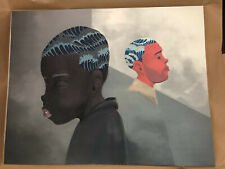 HEBRU BRANTLEY Two Men Sporting Waves Litho 150 Print Them All SOLD OUT. In Hand