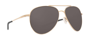 Costa Del Mar COOK Titanium Polarized Sunglasses Gold/Gray 580P Aviator