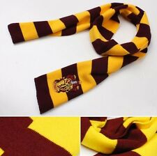 Harry Potter Gryffindor House Cosplay Knit Wool Scarf  Wrap Fashion costume Hot