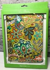 VERA BRADLEY Provencal Multi-Color Hard Snap On Ipad Case for Ipad 2 & 3  NIB