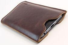 LG Google Nexus 5 Custodia Cellulare Pelle Marrone Custodia Guscio Astuccio Cover Bag desiderio INCISIONE
