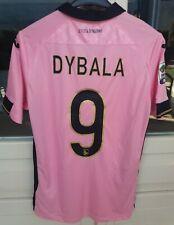 Rara maglia calcio Palermo, Paulo Dybala, serie A, match worn issued 2014/15