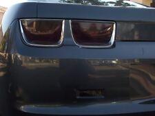10-2013 Camaro PreCut 10pc Smoked Tail Light, side marker, reverse tint Overlays