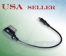 Mini-USB Smartphone to Mercedes-Benz MMI AMI Music System Audio Input Adapter