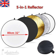 Photo Photography 80cm 5 in 1 Collapsible Multi Light Reflector Studio Case