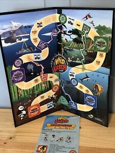 Wild Kratts Game Replacement Parts Board And Instructions