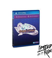 Dragon Fantasy The Black Tome of Ice - (3000 copies ww) - PSVITA - NEW - LRG #19