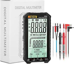 Digital Multimeter Tester, Multi Meter Tester with 4.7 Inch Large Screen, TRMS