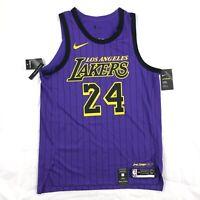 Nike LA Lakers Kobe Bryant Vaporknit Authentic City Jersey Purple Men's 48-52