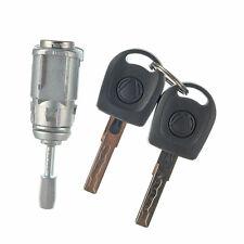 Door Lock Cylinder Repair Kit 2 Keys for Volkswagen Golf Jetta 97-06 Front Left