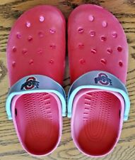OHIO STATE RED CROCS SHOES SIZE XXL M 12-13
