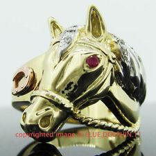 Not Enhanced Yellow Gold Ruby Fine Jewellery