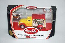 2001 Coca Cola Die Cast 1937 Dodge Norman Rockwell Matchbox Coke NIB Truck