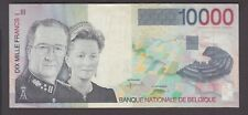 Belgium banknote P. 152-4716 10,000 Francs, tiny tear at bottom left,  VF
