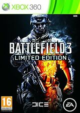 BATTLEFIELD 3     LIMITED EDITION   ---   pour X-BOX 360   // ITALIANO