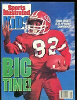 Sports Illustrated For Kids November 1990 w/Mint Cards Barry Sanders RC+ jhsi