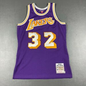 100% Authentic Magic Johnson Mitchell & Ness 84 85 Lakers Jersey Size 40 M Mens